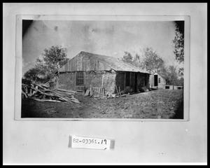 Primary view of object titled 'Exterior Mud Brick House'.