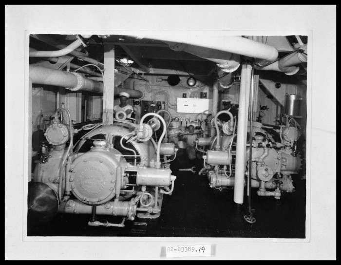 Ship\'s Boiler Room - The Portal to Texas History