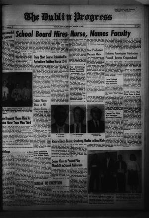 Primary view of object titled 'The Dublin Progress (Dublin, Tex.), No. 51, Ed. 1 Friday, March 9, 1962'.