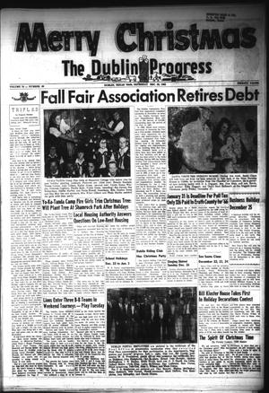 Primary view of object titled 'The Dublin Progress (Dublin, Tex.), Vol. 76, No. 89, Ed. 1 Thursday, December 23, 1965'.