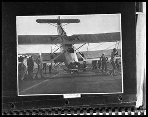 Primary view of object titled 'Plane Crash on Ship'.