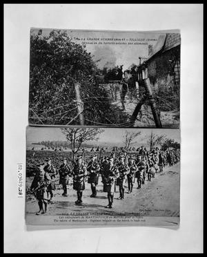 Primary view of object titled 'World War I Scenes'.