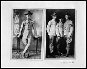 Primary view of object titled 'World War I Soldiers'.