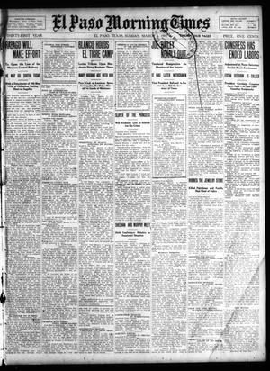 Primary view of object titled 'El Paso Morning Times (El Paso, Tex.), Vol. 31, Ed. 1 Sunday, March 5, 1911'.