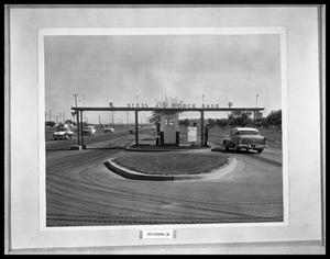 Primary view of object titled 'Airbase Front Gates'.