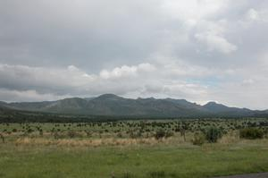 Primary view of object titled 'West Texas vista, from Hwy 166'.