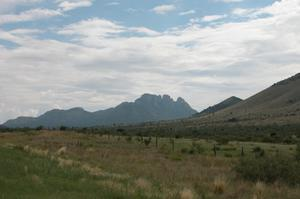 West Texas vista, from Highway 166