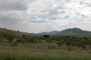 West Texas vista, from Highway 118