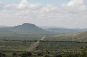 Primary view of object titled 'West Texas vista, from Highway 118'.