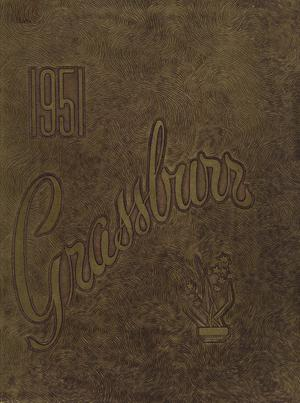 Primary view of The Grassburr, Yearbook of Tarleton State College, 1951