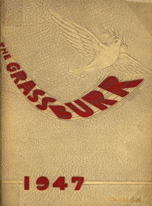 Primary view of object titled 'The Grassburr, Yearbook of John Tarleton Agricultural College, 1947'.
