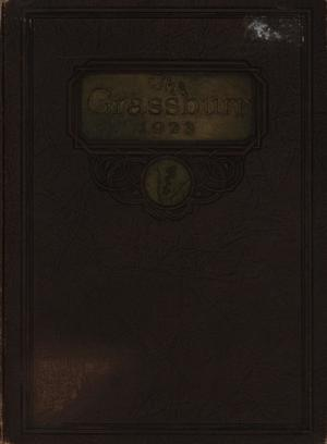 Primary view of object titled 'The Grassburr, Yearbook of John Tarleton Agricultural College, 1923'.
