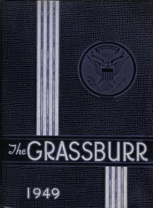 Primary view of object titled 'The Grassburr, Yearbook of Tarleton State College, 1949'.