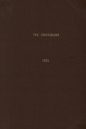 Primary view of object titled 'The Grassburr, Yearbook of John Tarleton Agricultural College, 1921'.