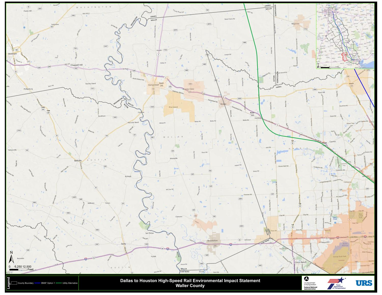 Dallas to Houston High-Speed Rail Environmental Impact