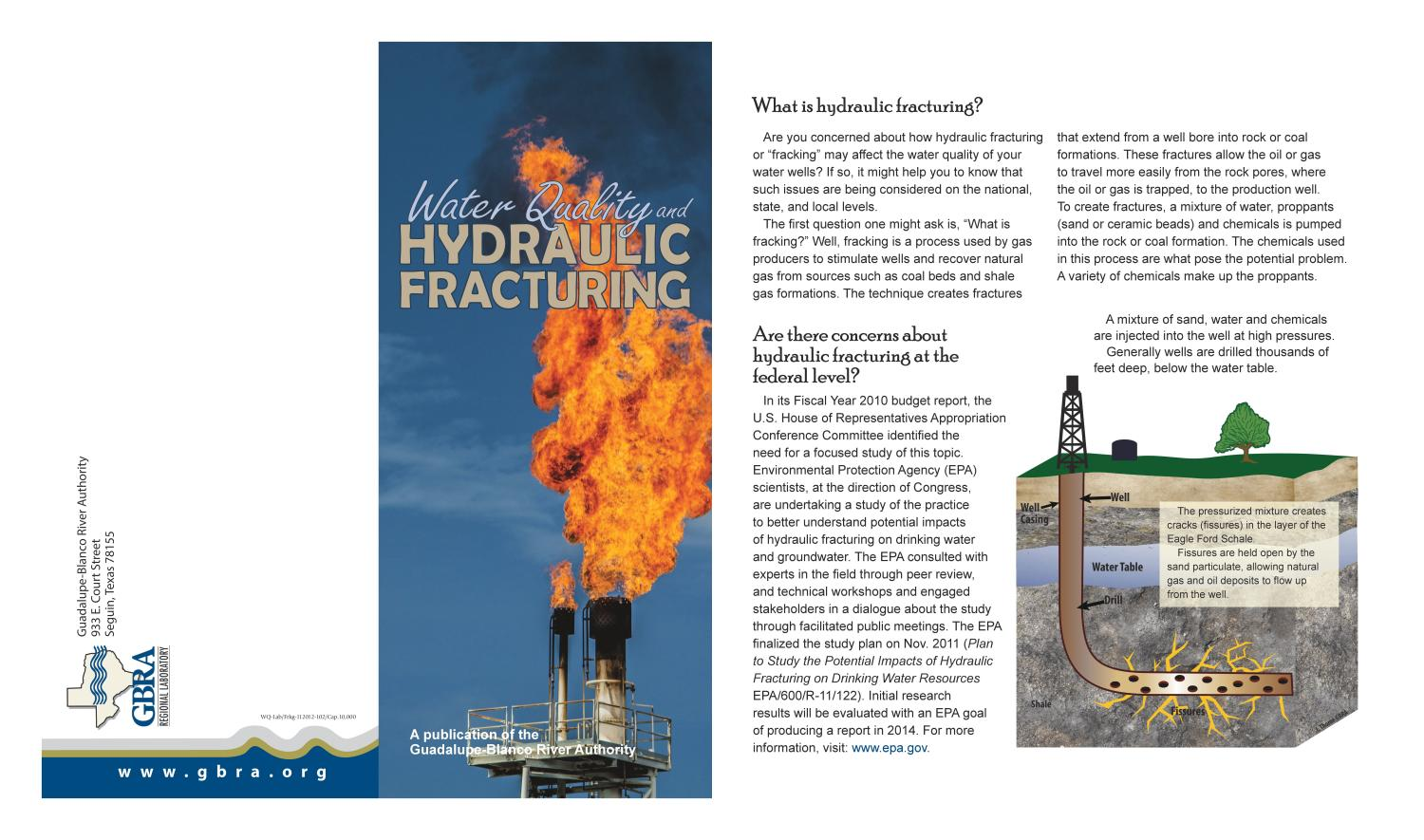 hydraulic fracturing and its concern today