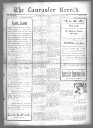 Primary view of object titled 'The Lancaster Herald. (Lancaster, Tex.), Vol. 26, No. 28, Ed. 1 Friday, August 9, 1912'.