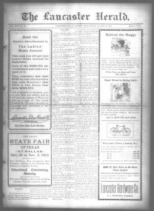Primary view of object titled 'The Lancaster Herald. (Lancaster, Tex.), Vol. 27, No. 30, Ed. 1 Friday, August 22, 1913'.