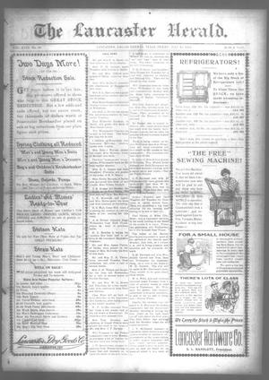 Primary view of object titled 'The Lancaster Herald. (Lancaster, Tex.), Vol. 27, No. 24, Ed. 1 Friday, July 11, 1913'.