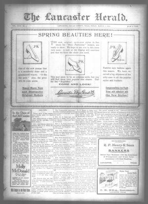 Primary view of object titled 'The Lancaster Herald. (Lancaster, Tex.), Vol. 27, No. 6, Ed. 1 Friday, March 7, 1913'.