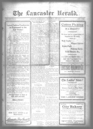 Primary view of object titled 'The Lancaster Herald. (Lancaster, Tex.), Vol. 28, No. 32, Ed. 1 Friday, September 4, 1914'.