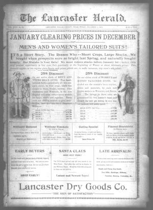 Primary view of object titled 'The Lancaster Herald. (Lancaster, Tex.), Vol. 27, No. 45, Ed. 1 Friday, December 5, 1913'.