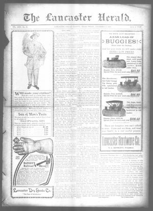 Primary view of object titled 'The Lancaster Herald. (Lancaster, Tex.), Vol. 24, No. 44, Ed. 1 Friday, December 2, 1910'.