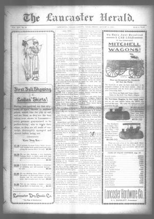 Primary view of object titled 'The Lancaster Herald. (Lancaster, Tex.), Vol. 25, No. 28, Ed. 1 Friday, August 11, 1911'.