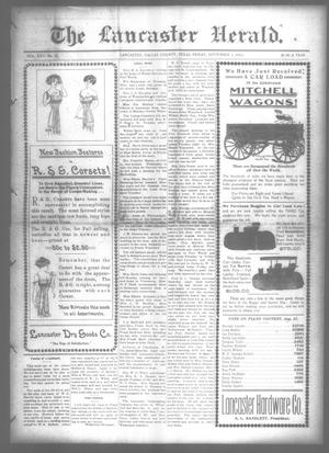 Primary view of object titled 'The Lancaster Herald. (Lancaster, Tex.), Vol. 25, No. 31, Ed. 1 Friday, September 1, 1911'.
