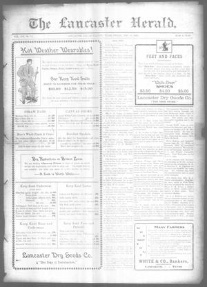 Primary view of object titled 'The Lancaster Herald. (Lancaster, Tex.), Vol. 21, No. 15, Ed. 1 Friday, May 15, 1908'.