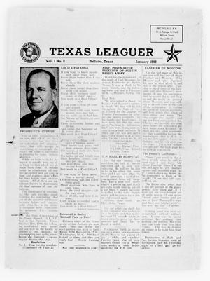Primary view of object titled 'Texas Leaguer (Bellaire, Tex.), Vol. 1, No. 2, Ed. 1 Thursday, January 1, 1948'.