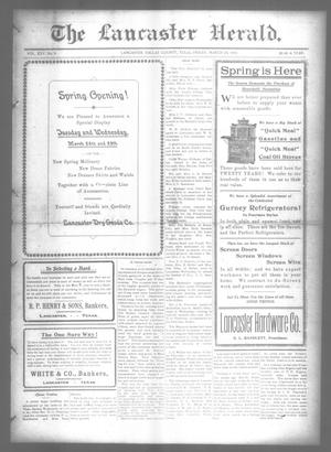 Primary view of object titled 'The Lancaster Herald. (Lancaster, Tex.), Vol. 25, No. 8, Ed. 1 Friday, March 24, 1911'.