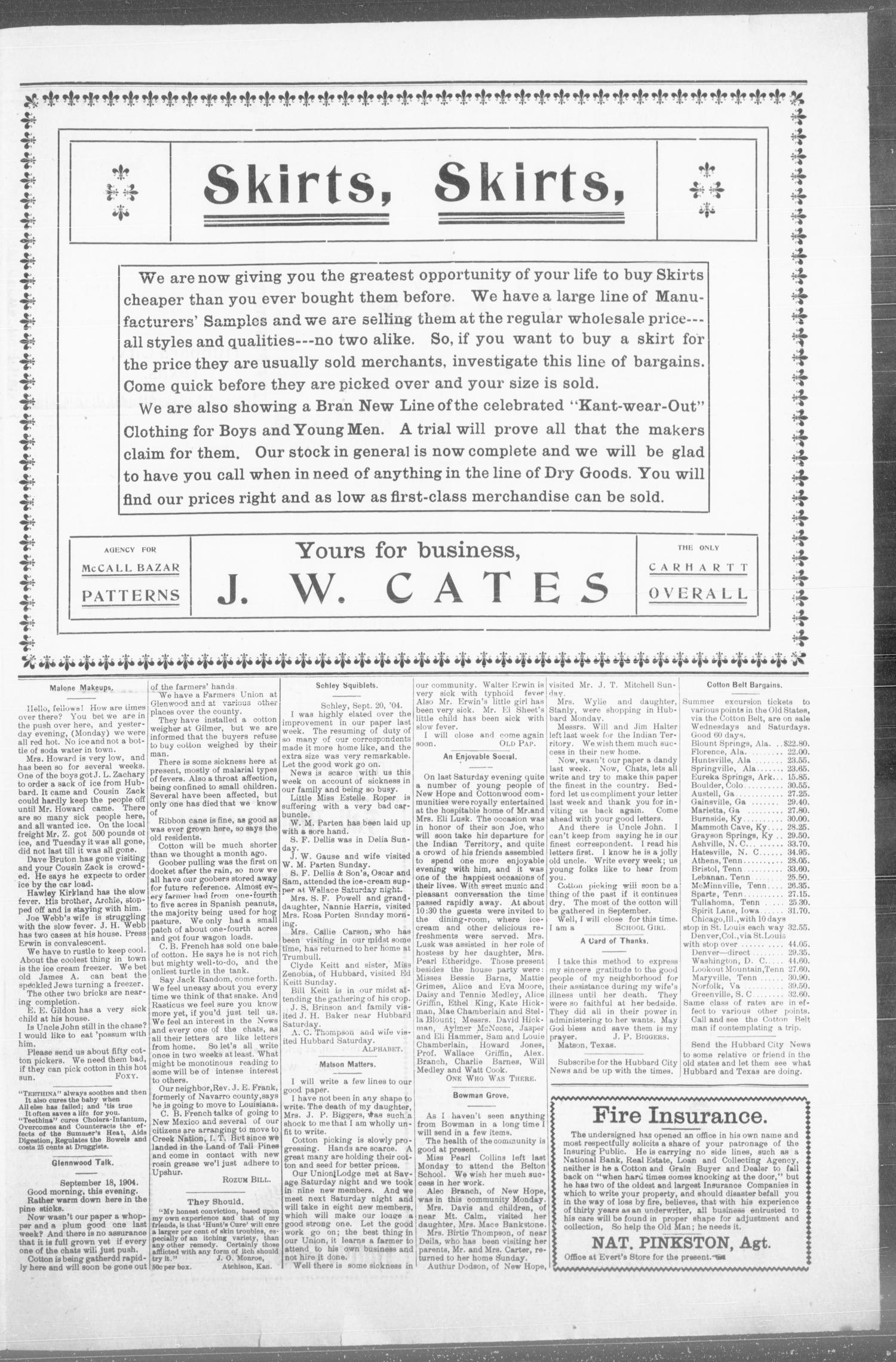 4f52db61ede1 The Hubbard City News. (Hubbard City