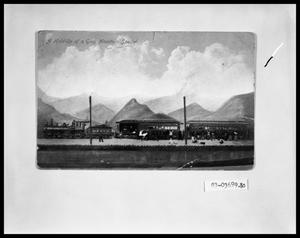 Primary view of object titled 'Postcard of Train Robbery'.