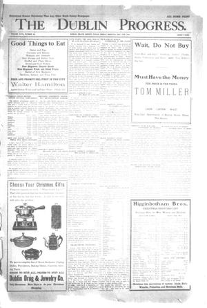 Primary view of object titled 'The Dublin Progress. (Dublin, Tex.), Ed. 1 Friday, December 5, 1913'.