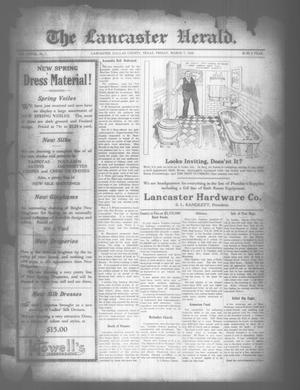 Primary view of object titled 'The Lancaster Herald. (Lancaster, Tex.), Vol. 33, No. 7, Ed. 1 Friday, March 7, 1919'.