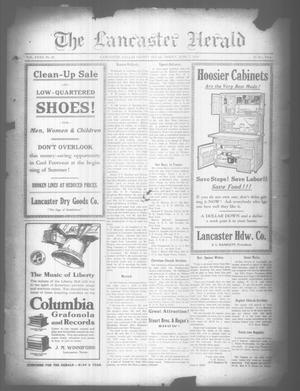 Primary view of object titled 'The Lancaster Herald. (Lancaster, Tex.), Vol. 32, No. 20, Ed. 1 Friday, June 7, 1918'.
