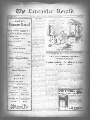Primary view of object titled 'The Lancaster Herald. (Lancaster, Tex.), Vol. 33, No. 27, Ed. 1 Friday, July 25, 1919'.