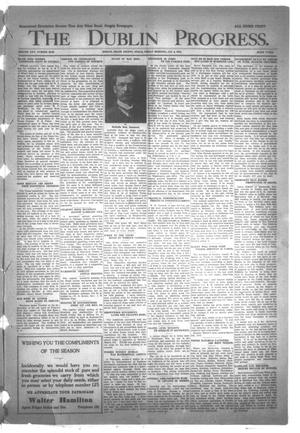 Primary view of object titled 'The Dublin Progress. (Dublin, Tex.), Ed. 1 Friday, January 3, 1913'.