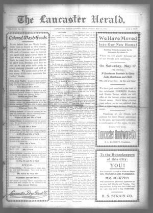 Primary view of The Lancaster Herald. (Lancaster, Tex.), Vol. 27, No. 16, Ed. 1 Friday, May 16, 1913