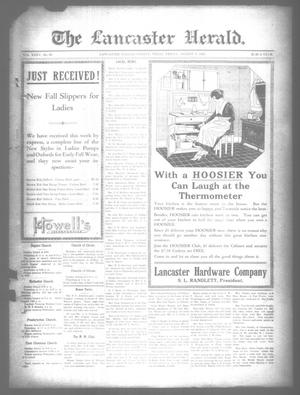 Primary view of object titled 'The Lancaster Herald. (Lancaster, Tex.), Vol. 35, No. 29, Ed. 1 Friday, August 5, 1921'.