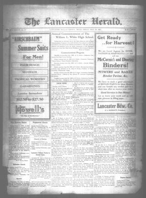 Primary view of object titled 'The Lancaster Herald. (Lancaster, Tex.), Vol. 37, No. 17, Ed. 1 Friday, May 18, 1923'.