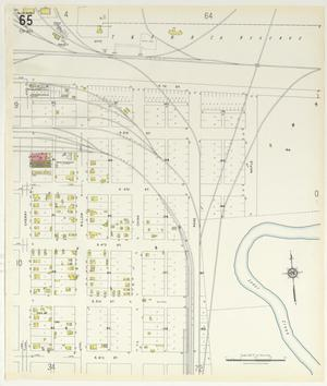 Primary view of object titled 'Abilene 1929 Sheet 65'.