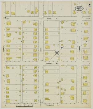 Primary view of Mart 1909 Sheet 5