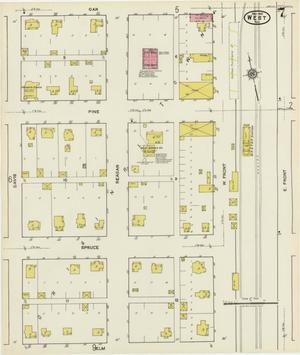 Primary view of West 1921 Sheet 7