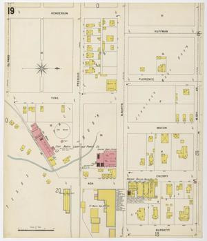 Primary view of Fort Worth 1898 Sheet 19