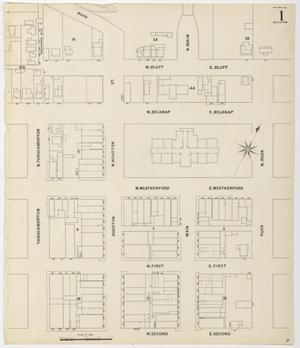 Primary view of object titled 'Fort Worth 1898 Sheet 1 (Skeleton)'.