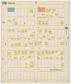 Primary view of object titled 'Fort Worth 1911 Sheet 175'.