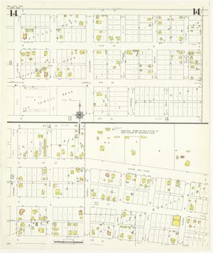 Primary view of object titled 'Bay City 1942 Sheet 14'.