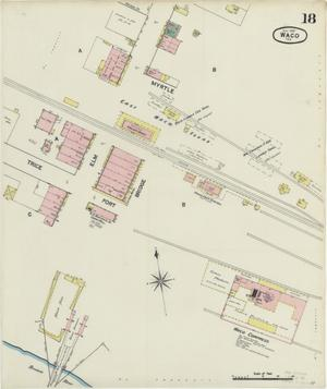 Primary view of object titled 'Waco 1889 Sheet 18'.